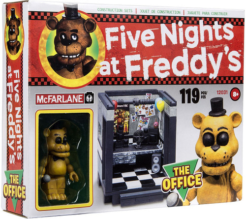 McFarlane Toys Five Nights at Freddy's The Office Construction Set [Golden Freddy]