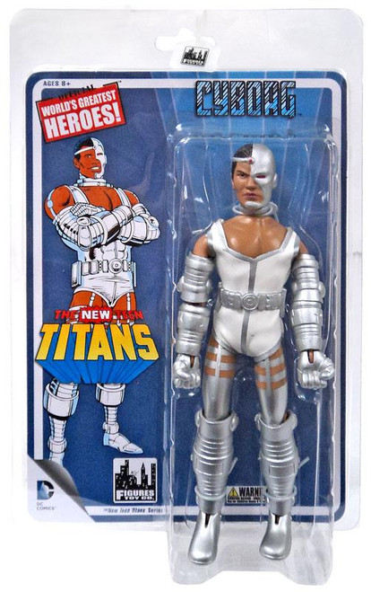 DC World's Greatest Heroes! The NEW Teen Titans Cyborg Retro Action Figure