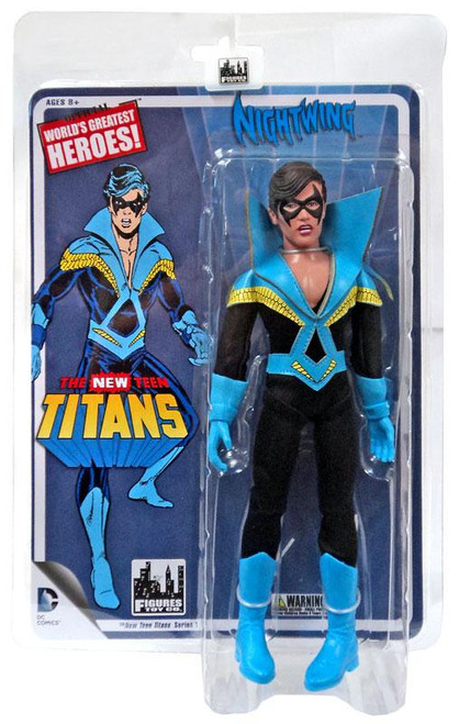 DC World's Greatest Heroes! The NEW Teen Titans Nightwing Retro Action Figure