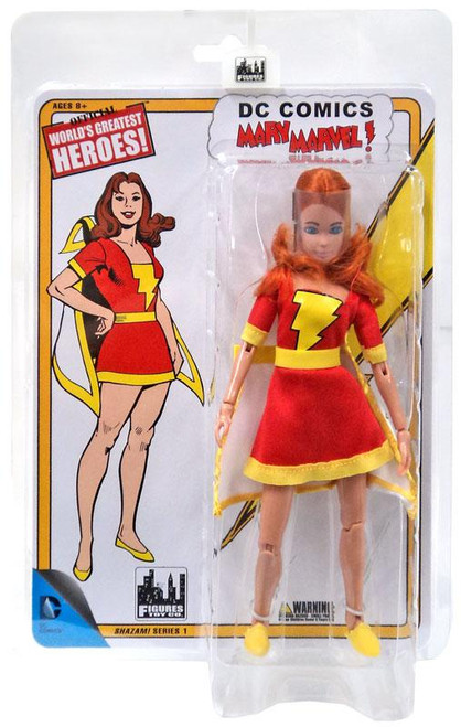 DC World's Greatest Heroes! Shazam! Series 1 Mary Marvel Retro Action Figure