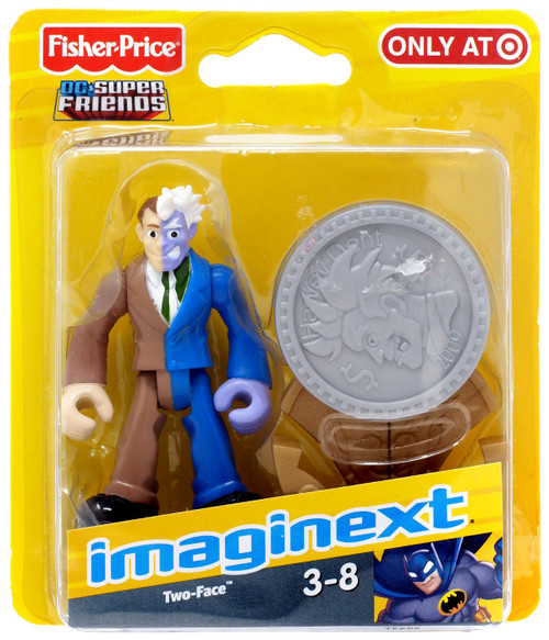 Fisher Price DC Super Friends Imaginext Two-Face Exclusive 3-Inch Mini Figure