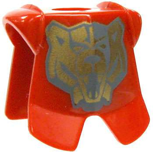 LEGO Castle Armor Red Breastplate with Gold Bear Sigil [Loose]