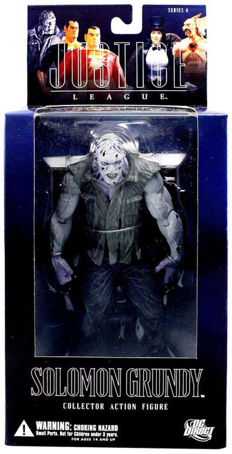 DC Alex Ross Justice League Series 4 Solomon Grundy Action Figure [Damaged Package]