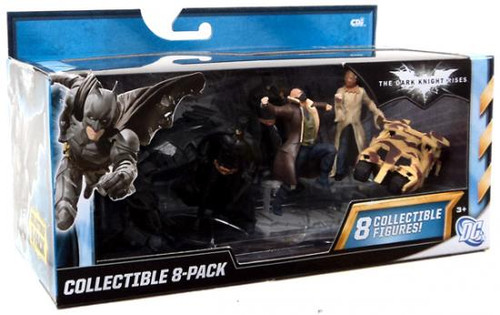 Batman The Dark Knight Rises Collectible 3-Inch Figure 8-Pack [Damaged Package]