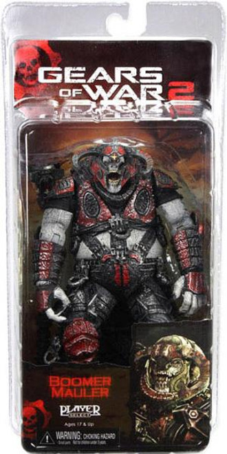NECA Gears of War 2 Series 6 Boomer Mauler Action Figure [Damaged Package]