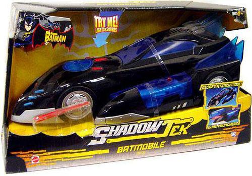 The Batman Shadow Tek Batmobile Vehicle [Damaged Package]