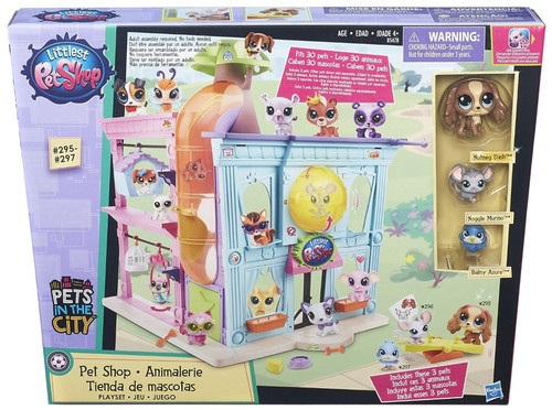 Littlest Pet Shop Pets in the City Pet Shop Playset