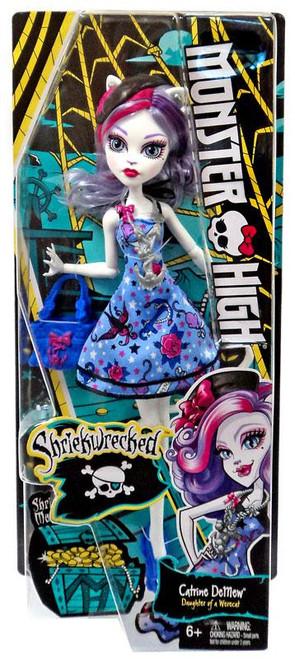 Monster High Shriekwrecked Catrine DeMew Doll
