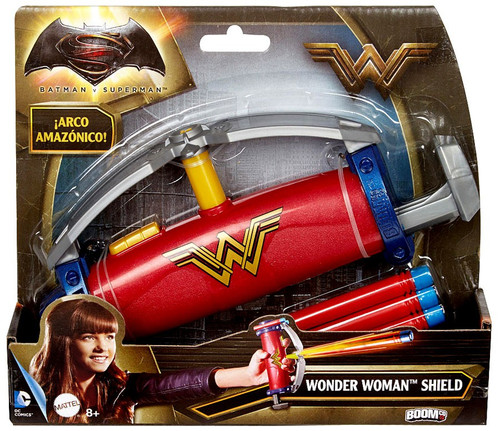 DC Batman v Superman: Dawn of Justice Gauntlet Grip Wonder Woman Shield Roleplay Toy