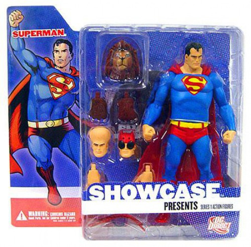 DC Showcase Presents Series 1 Superman Action Figure