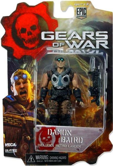 NECA Gears of War 3 Damon Baird Action Figure [Loose]