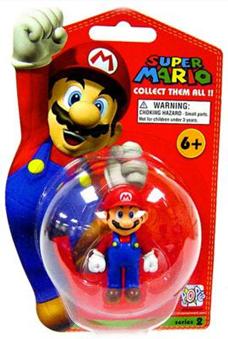 Super Mario Bros Series 2 Mario Vinyl Mini Figure [Loose]