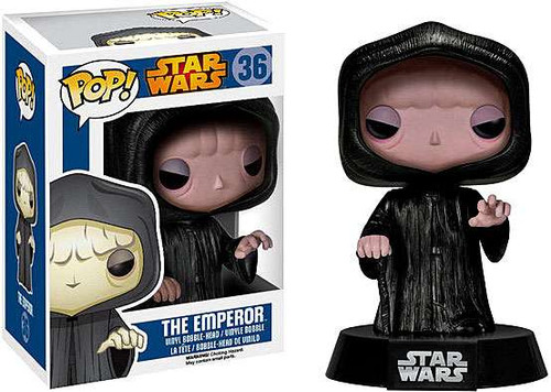Funko Return of the Jedi POP! Star Wars Emperor Palpatine Vinyl Bobble Head #36 [Pale Skin, Damaged Package]