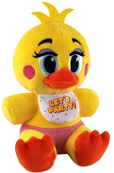 Funko Five Nights at Freddy's Series 2 Toy Chica 6-Inch Plush