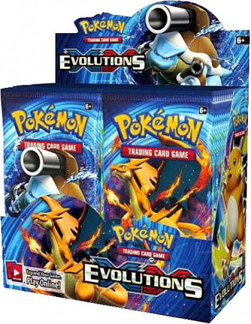 Pokemon Trading Card Game XY Evolutions Booster Box [36 Packs]