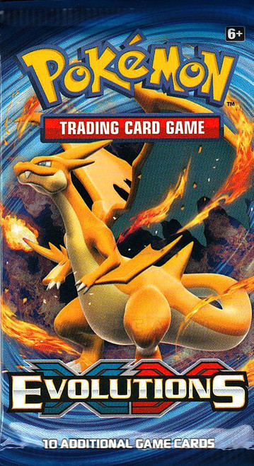 Pokemon Trading Card Game XY Evolutions Booster Pack [10 Cards]