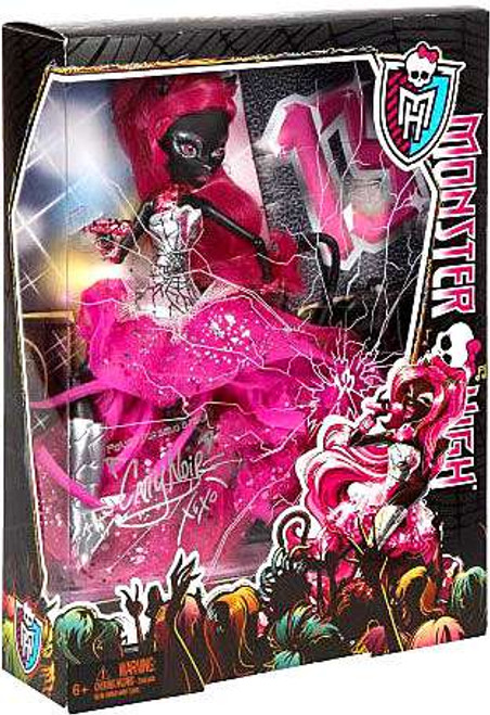 Monster High Catty Noir 10.5-Inch Doll [Friday the 13th DELUXE , Damaged Package]