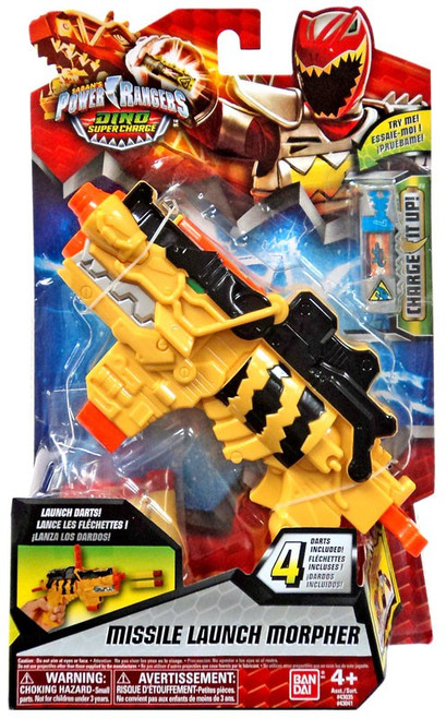 Power Rangers Dino Super Charge Missile Launch Morpher Roleplay Toy #43041