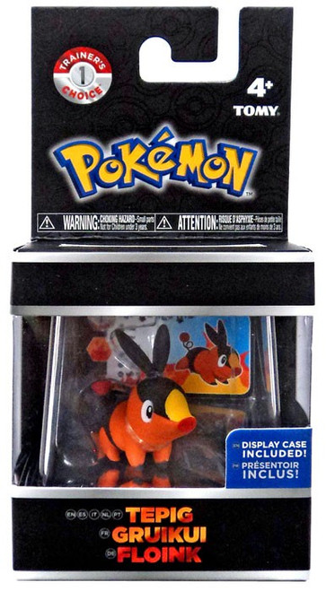 Pokemon Tepig Trainer's Choice Mini Figure