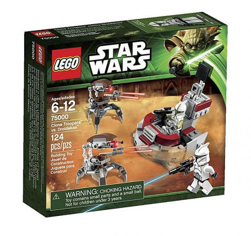 LEGO Star Wars The Clone Wars Clone Troopers vs. Droidekas Set #75000 [Damaged Package]