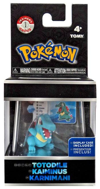 Pokemon Totodile Trainer's Choice Mini Figure