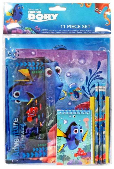 Disney / Pixar Finding Dory 11 Piece Stationery Kit