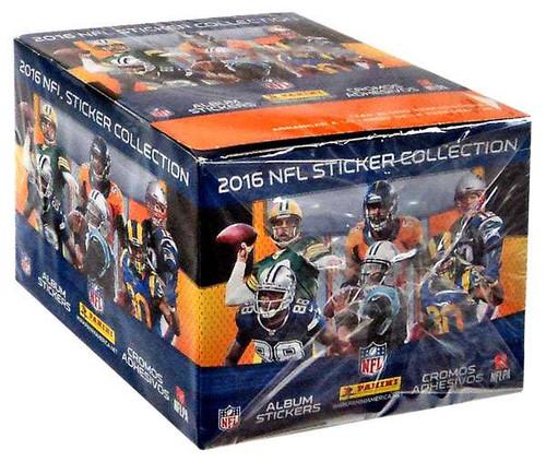 NFL Panini 2016 Football Sticker Collection Box [50 Packs]