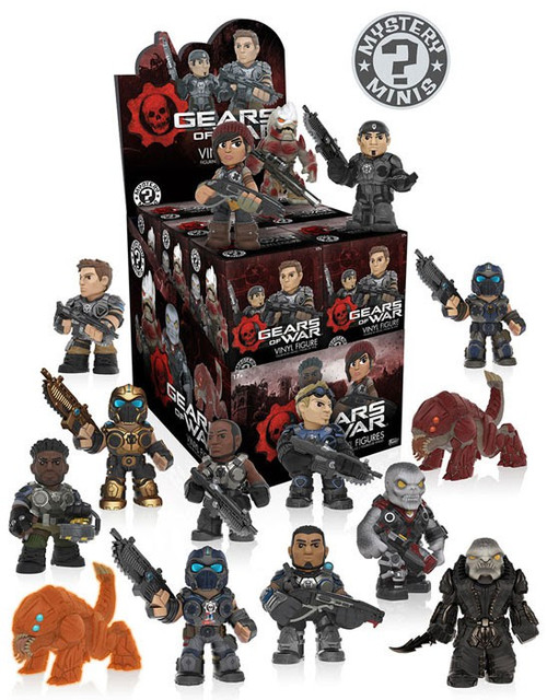 Funko Mystery Minis Gears of War Mystery Box [12 Packs]