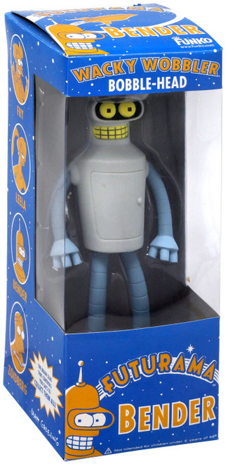 Funko Futurama Bender Exclusive Bobble Head [2008 SDCC]