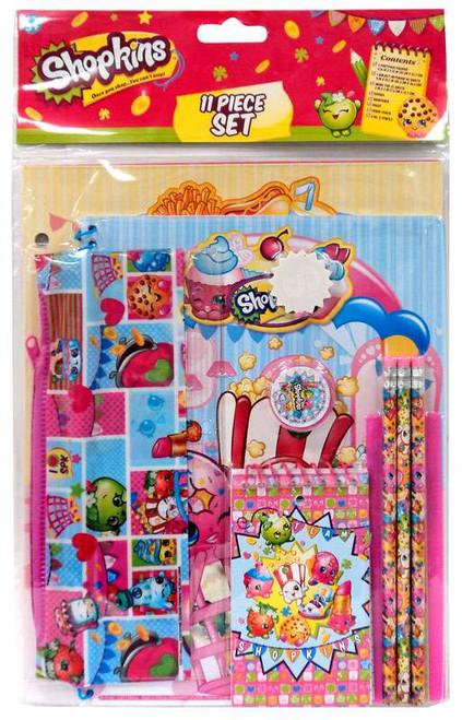 Shopkins 11 Piece Stationery Kit