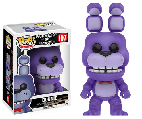 Funko Five Nights at Freddy's POP! Games Bonnie Vinyl Figure #107