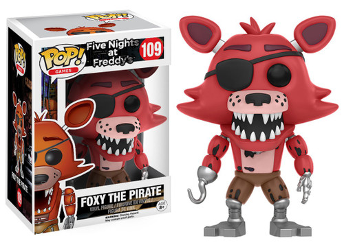 Funko Five Nights at Freddy's POP! Games Foxy The Pirate Vinyl Figure #109
