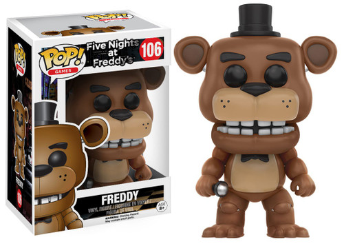 Funko Five Nights at Freddy's POP! Games Freddy Vinyl Figure #106