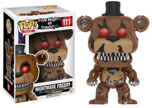 Funko Five Nights at Freddy's POP! Games Nightmare Freddy Vinyl Figure #111