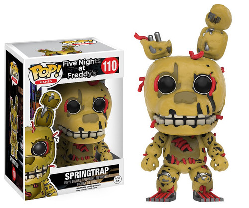 Funko Five Nights at Freddy's POP! Games Springtrap Vinyl Figure #110