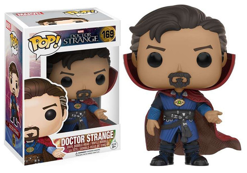 Funko POP! Marvel Doctor Strange Vinyl Bobble Head #169