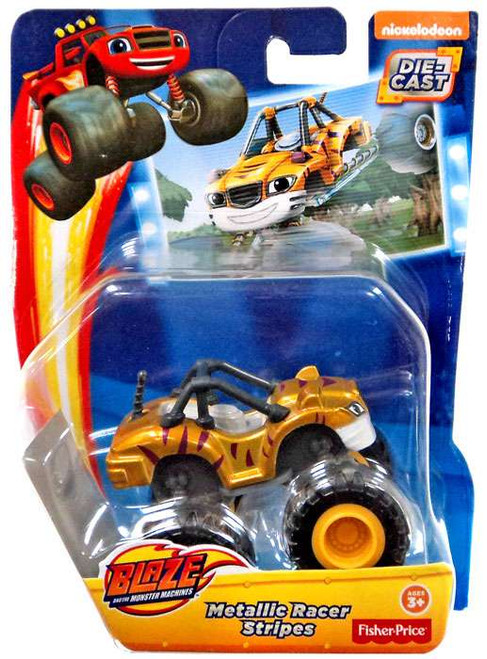 Fisher Price Blaze & the Monster Machines Metallic Stripes Diecast Car