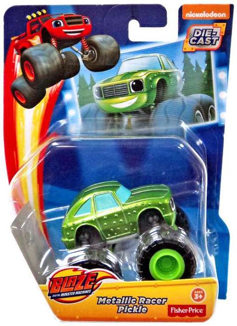 Fisher Price Blaze & the Monster Machines Metallic Pickle Diecast Car