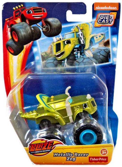 Fisher Price Blaze & the Monster Machines Metallic Zeg Diecast Car