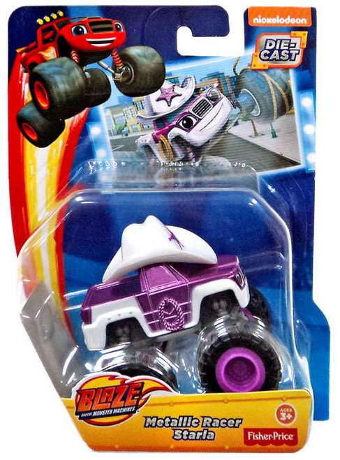 Fisher Price Blaze & the Monster Machines Metallic Starla Diecast Car