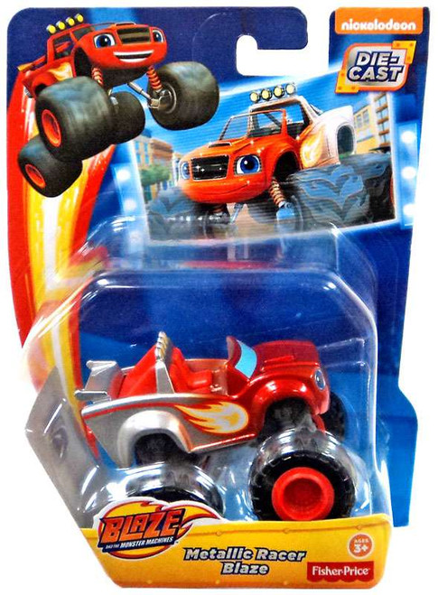 Fisher Price Blaze & the Monster Machines Metallic Racer Blaze Diecast Car