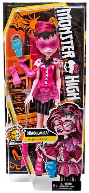 Monster High Day-to-Night Fashion Draculaura Doll