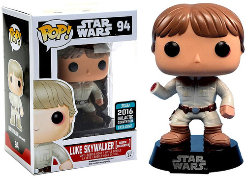 Funko A New Hope POP! Star Wars Luke Skywalker Exclusive Vinyl Bobble Head #94 [Bespin Encounter]