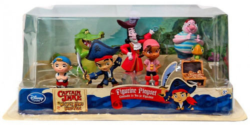 Disney Captain Jake and the Never Land Pirates 7 Piece PVC Figurine Playset [Version 2]