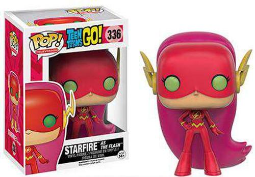 Funko DC Teen Titans Go! POP! TV Starfire as The Flash Exclusive Vinyl Figure #336
