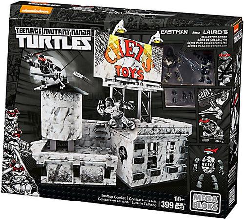 Mega Bloks Teenage Mutant Ninja Turtles Collector Rooftop Combat Exclusive Set