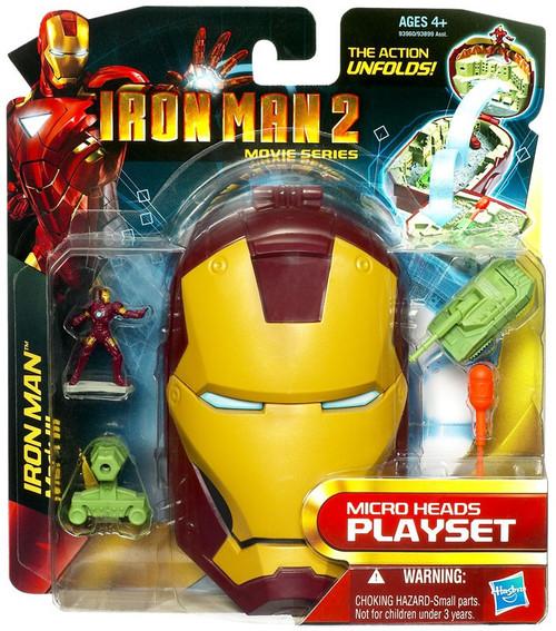 Iron Man 2 Movie Series Iron Man Mark III Micro Playset [Damaged Package]