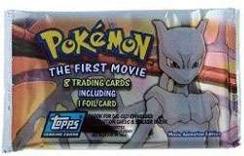 Topps Pokemon The First Movie Trading Card Pack