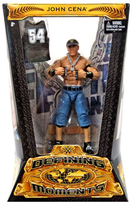 WWE Wrestling Defining Moments John Cena Action Figure [2003 Word Life]