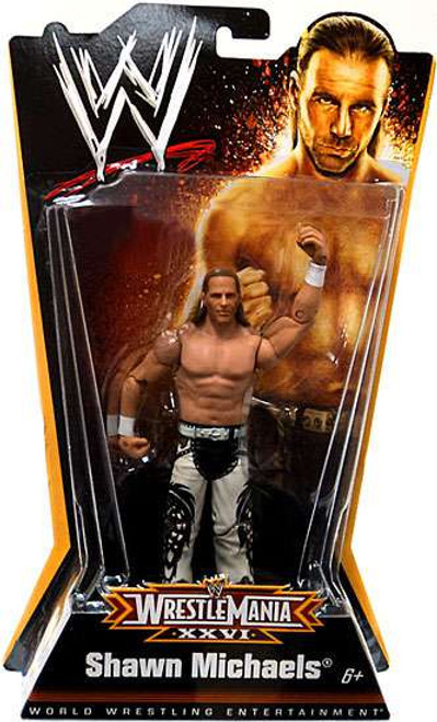 WWE Wrestling WrestleMania 26 Shawn Michaels Exclusive Action Figure
